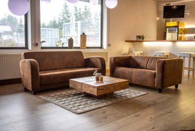 Eingangsbereich und Relaxzone